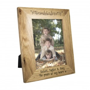 Grandchildren 6x4 Wooden Photo Frame