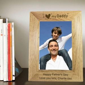 I Heart My 6x4 Wooden Photo Frame