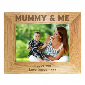 Mummy & Me 5x7 Wooden Photo Frame