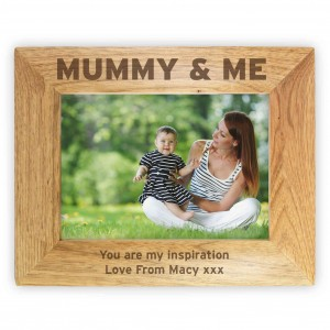 Mummy & Me 6x4 Wooden Photo Frame