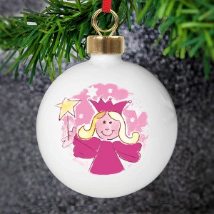 Pink Angel Bauble