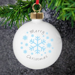 Snowflakes Bauble