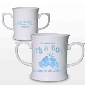 Bootee It's a Boy Loving Mug