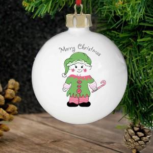 Cheeky Elf Bauble