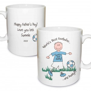 Worlds Best Footballer Mug