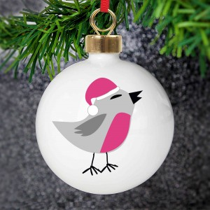 New Robin Bauble