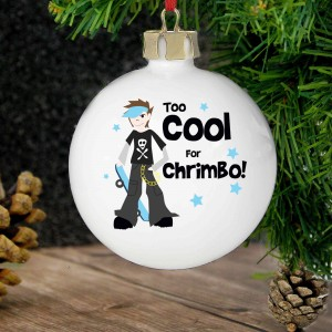 Too Cool Boy Bauble