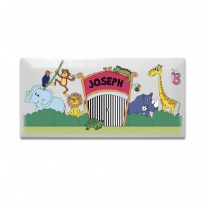 Zoo Door Plaque