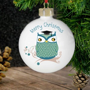 Mr Owl Bauble