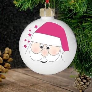 Santa Tree Decoration