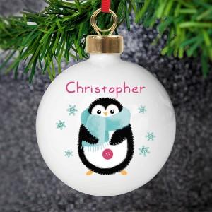 Felt Stitch Penguin Bauble