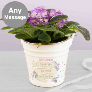 Garden Bloom Porcelain Bucket