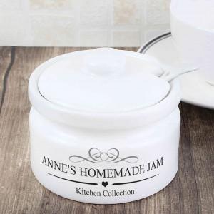 Decorative Jam/Sugar Pot