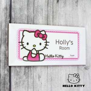 Hello Kitty Bow Door Plaque