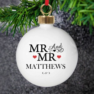 Mr & Mr Bauble