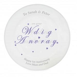 Anniversary Word Plate