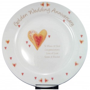 Golden Anniversary Plate