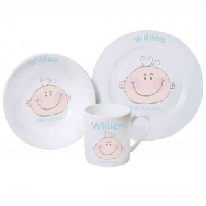 Baby Boy Breakfast Set