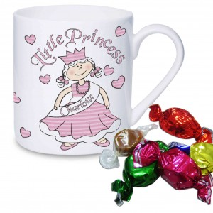 Little Princess Mug with  Milk Chocolates