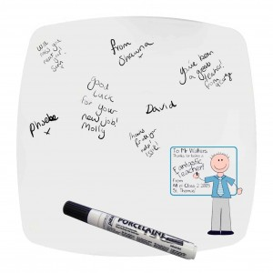 Blue Teachers Whiteboard Message Plate