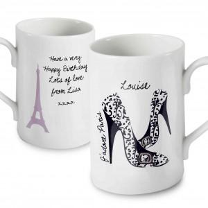 J'adore Paris Shoe Mug
