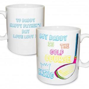 Golf Course King Mug