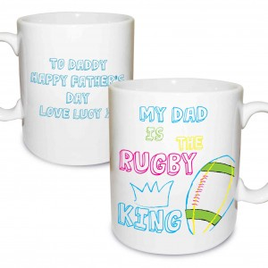 Rugby King Mug