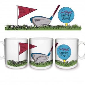 No1 Golfer Mug