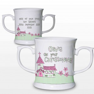 Pink Church Loving Mug