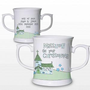 Blue Church Loving Mug