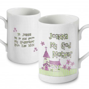 Whimsical Church Godmother Mug