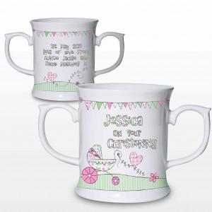 Whimsical Pram Pink Mug