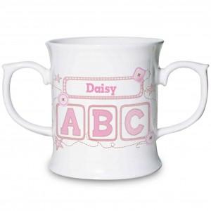 Pink ABC Loving Mug