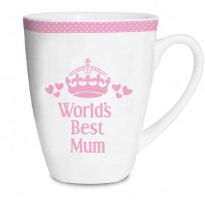 Pink Worlds Best Latte Mug