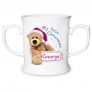 Teddy 1st Christmas Loving Mug