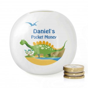 Dinosaur Money Box