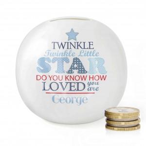 Twinkle Boys Money Box