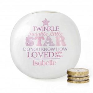 Twinkle Girls Money Box
