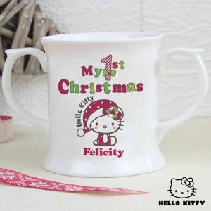 Hello Kitty My 1st Christmas Loving Mug