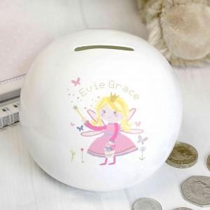 Garden Fairy Money Box