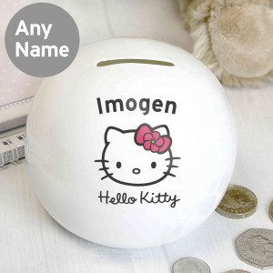 Hello Kitty Floral Money Box
