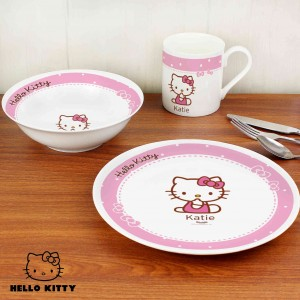 Hello Kitty Bow Breakfast Set