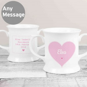 Stitch & Dot Girls Loving Mug