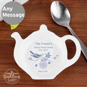Country Diary Blue Blossom Tea Bag Rest