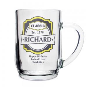 Classic Glass Tankard