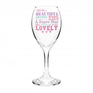 She Is... Wine Glass