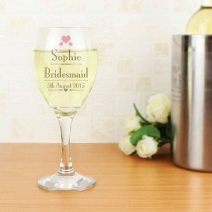Decorative Wedding Female Wine Glass