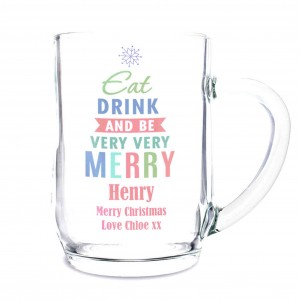 Eat Drink & Be Merry Tankard