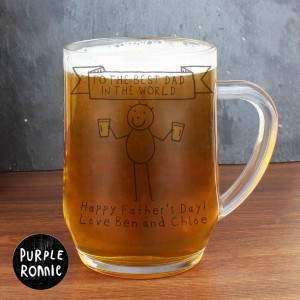 Purple Ronnie Cheers Tankard