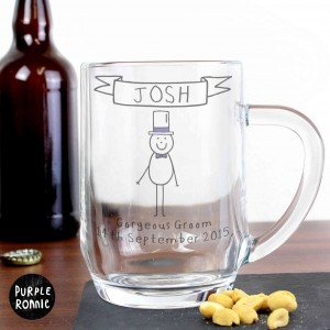 Purple Ronnie Male Wedding Tankard